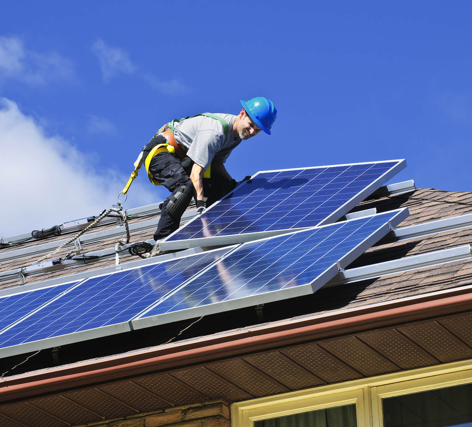 Installing Solar Panels Protects Roof